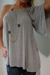 Frenzii one-shoulder top $73 available at joeyeric.com