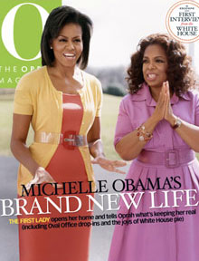 Our new First Lady Michelle Obama and Oprah