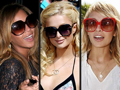 Beyonce Knowles, Paris Hilton, Nicole Richie