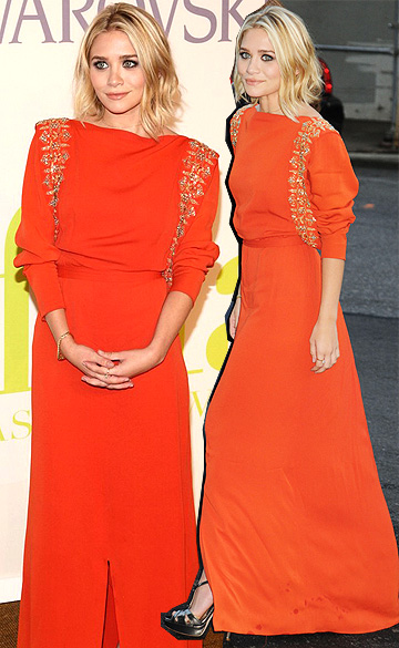 Ashley Olsen at the 2009 CFDA Fashion Awards held at the Lincoln Center's Alice Tully Hall in NYC.