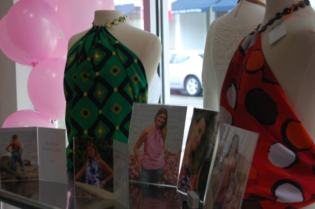 Fabulous halter tops handmade by Leann, with L Designs