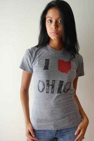 I love-shirt Ohio